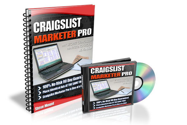 Product picture CRAIGSLIST MARKETER PRO VIDEO & EBOOK MASTER RESALE RIGHT