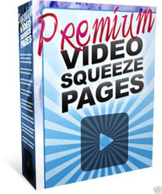 Product picture CREATE PREMIUM VIDEO SQUEEZE PAGES TEMPLATES MRR