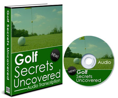 Product picture Golf Secrets Uncovered Audio Book Resale Rights