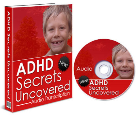 Product picture ADHD Secrets Uncovered Audio Book Resale Rights PLR MMR