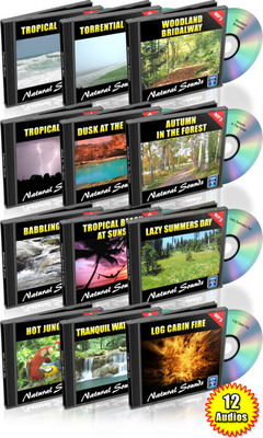 Product picture 12 HOURS OF NATURAL SOUNDS AUDIO MP3 COLLECTION MRR