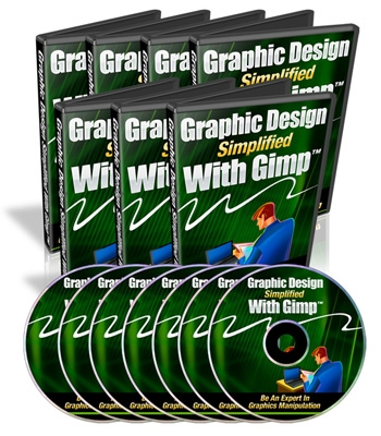 Product picture GRAPHIC DESIGN SIMPLIFIED WITH GIMP VIDEO TUTORIALS