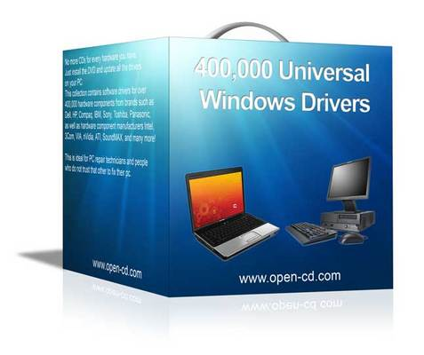 Product picture PC DRIVERS DVD 400,000+ XP VISTA WIN 7 NEW FOR 2010